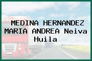 MEDINA HERNANDEZ MARIA ANDREA Neiva Huila