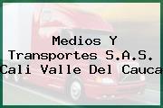 Medios Y Transportes S.A.S. Cali Valle Del Cauca