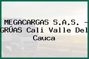 MEGACARGAS S.A.S. - GRÚAS Cali Valle Del Cauca