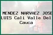 MENDEZ NARVAEZ JOSE LUIS Cali Valle Del Cauca