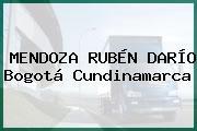 MENDOZA RUBÉN DARÍO Bogotá Cundinamarca