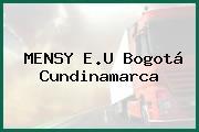MENSY E.U Bogotá Cundinamarca