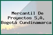 Mercantil De Proyectos S.A. Bogotá Cundinamarca