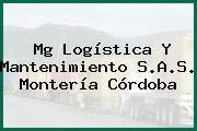 Mg Logística Y Mantenimiento S.A.S. Montería Córdoba