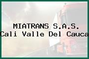 MIATRANS S.A.S. Cali Valle Del Cauca