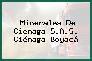 Minerales De Cienaga S.A.S. Ciénaga Boyacá