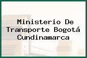 Ministerio De Transporte Bogotá Cundinamarca