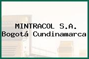 MINTRACOL S.A. Bogotá Cundinamarca
