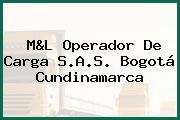 M&L Operador De Carga S.A.S. Bogotá Cundinamarca