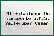 Ml Soluciones De Transporte S.A.S. Valledupar Cesar