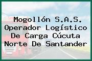 Mogollón S.A.S. Operador Logístico De Carga Cúcuta Norte De Santander