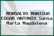 MONSALVO MANIGUA EDGAR ANTONIO Santa Marta Magdalena
