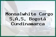Monsalwhite Cargo S.A.S. Bogotá Cundinamarca