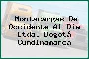 Montacargas De Occidente Al Día Ltda. Bogotá Cundinamarca