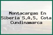 Montacargas En Siberia S.A.S. Cota Cundinamarca