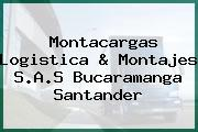 Montacargas Logistica & Montajes S.A.S Bucaramanga Santander