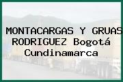 MONTACARGAS Y GRUAS RODRIGUEZ Bogotá Cundinamarca