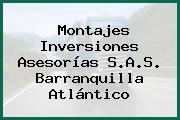 Montajes Inversiones Asesorías S.A.S. Barranquilla Atlántico