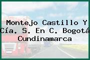 Montejo Castillo Y Cía. S. En C. Bogotá Cundinamarca
