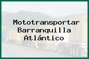 Mototransportar Barranquilla Atlántico