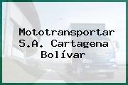Mototransportar S.A. Cartagena Bolívar