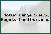 Motur Carga S.A.S. Bogotá Cundinamarca