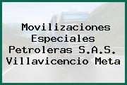 Movilizaciones Especiales Petroleras S.A.S. Villavicencio Meta