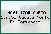 MOVILIZAR CARGA S.A.S. Cúcuta Norte De Santander