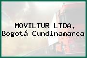 MOVILTUR LTDA. Bogotá Cundinamarca