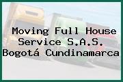 Moving Full House Service S.A.S. Bogotá Cundinamarca