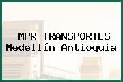 MPR TRANSPORTES Medellín Antioquia