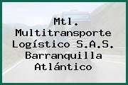Mtl. Multitransporte Logístico S.A.S. Barranquilla Atlántico