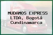 MUDAMOS EXPRESS LTDA. Bogotá Cundinamarca