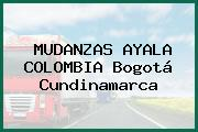 MUDANZAS AYALA COLOMBIA Bogotá Cundinamarca