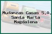 Mudanzas Casas S.A. Santa Marta Magdalena