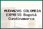 MUDANZAS COLOMBIA EXPRESS Bogotá Cundinamarca