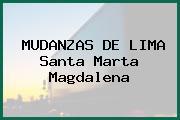 MUDANZAS DE LIMA Santa Marta Magdalena