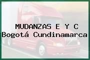 MUDANZAS E Y C Bogotá Cundinamarca
