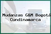Mudanzas G&M Bogotá Cundinamarca