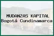 MUDANZAS KAPITAL Bogotá Cundinamarca