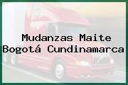 Mudanzas Maite Bogotá Cundinamarca