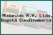 Mudanzas R.V. Ltda. Bogotá Cundinamarca