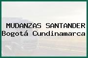 MUDANZAS SANTANDER Bogotá Cundinamarca