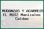 MUDANZAS Y ACARREOS EL RUIZ Manizales Caldas