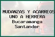 MUDANZAS Y ACARREOS UNO A HERRERA Bucaramanga Santander