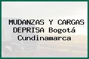 MUDANZAS Y CARGAS DEPRISA Bogotá Cundinamarca