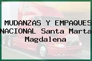 MUDANZAS Y EMPAQUES NACIONAL Santa Marta Magdalena
