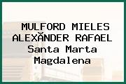 MULFORD MIELES ALEXÃNDER RAFAEL Santa Marta Magdalena