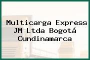 Multicarga Express JM Ltda Bogotá Cundinamarca