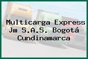 Multicarga Express Jm S.A.S. Bogotá Cundinamarca